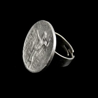 Antik Look Design Ring, 2,7 cm