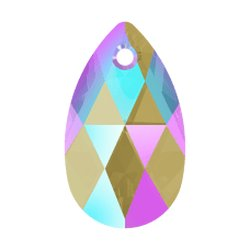 16 mm Pear Shaped Pendant
