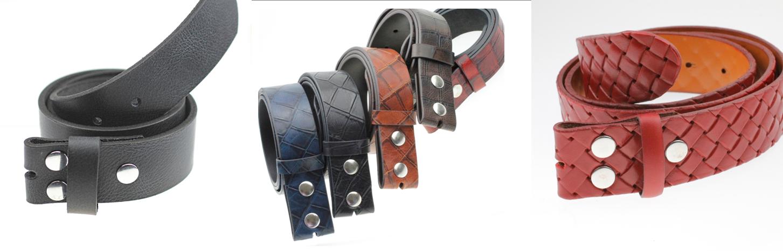 Leder Gürtel - Leather Belts