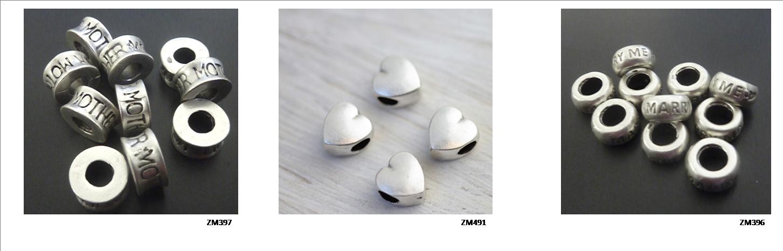 Metall Perlen - Metall Beads