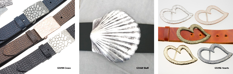Gürtelschließen -  Belt Buckles Crystalogy.de