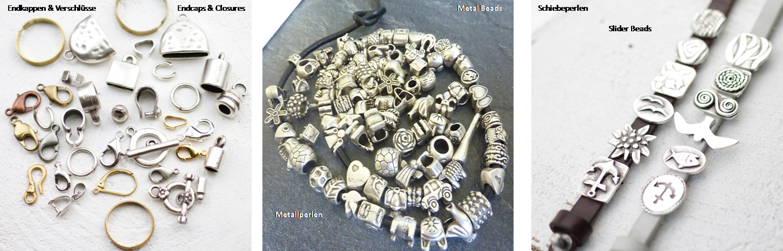 Metall Schmuck Zubehör - Metal Findings